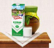 Натуральные молочные и кисломолочные продукты